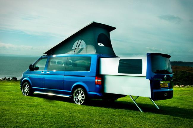 Раздвижной дом на колесах «Doubleback Van»