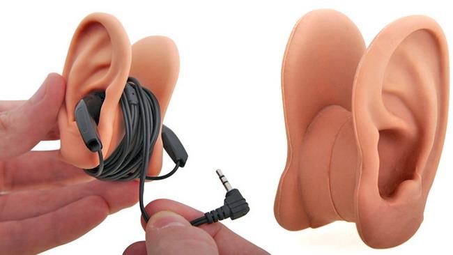 Лучше всего хранить ваши наушники на паре ушей!