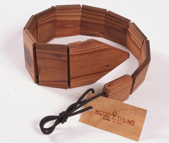 Деревянные галстуки от компании «Wood Thumb» (видео)