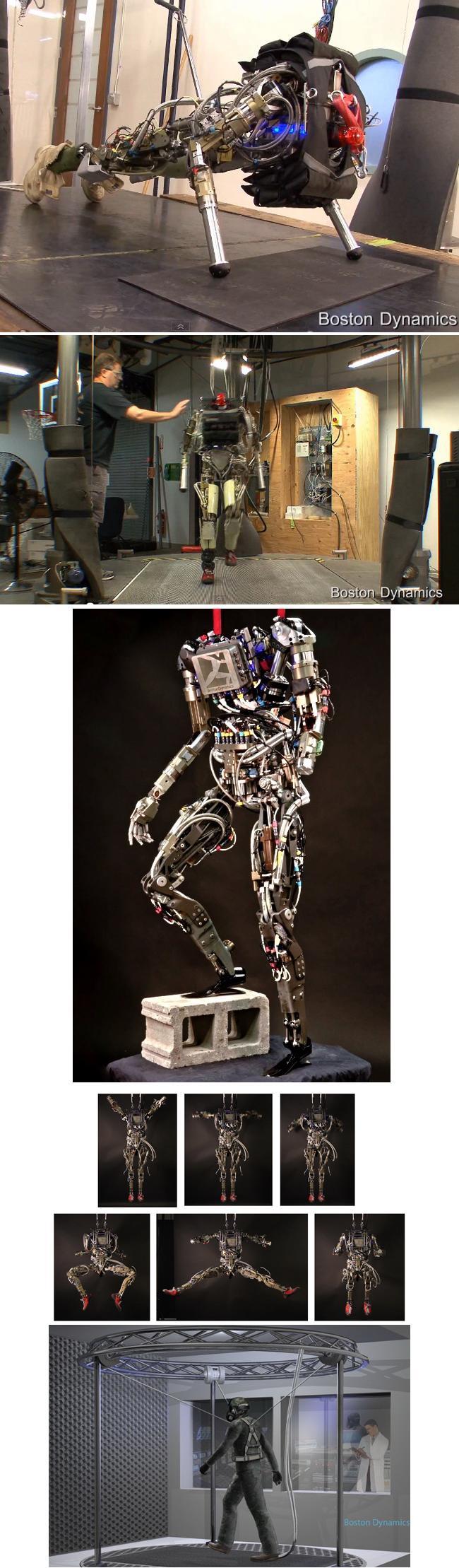 Потрясающий робот-гуманоид «Petman» от «Boston Dynamics» (видео)