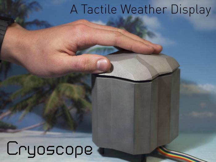 «Cryoscope» позволяет вам чувствовать погоду (видео)