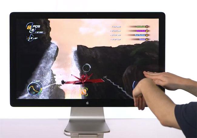 Система управления с помощью жестов «Leap 3D» в 200 раз точнее, чем «Kinect» от «Microsoft» (видео)
