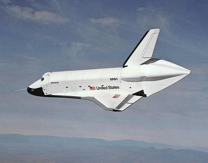 «Энтерпрайз» — испытательный полёт