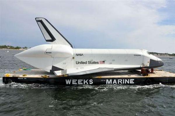 Шаттл «Enterprise» получил повреждение крыла при транспортировке (видео)