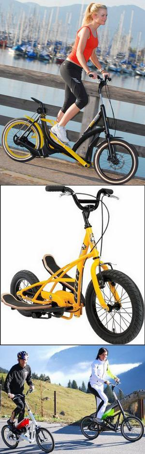 Велосипед - тренажер «StreetStepper bike»