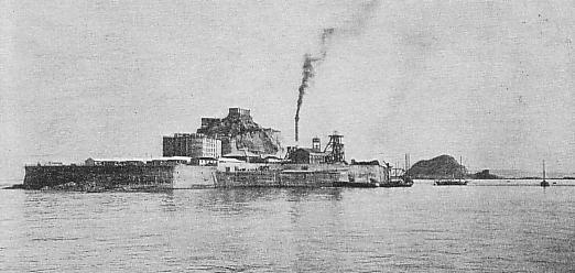 Так остров выглядел в 1930 году