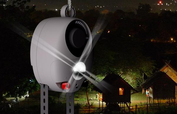 Гравитационная лампа (видео)