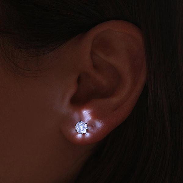 Светодиодные серьги – кристаллы «LED Crystal Earrings»