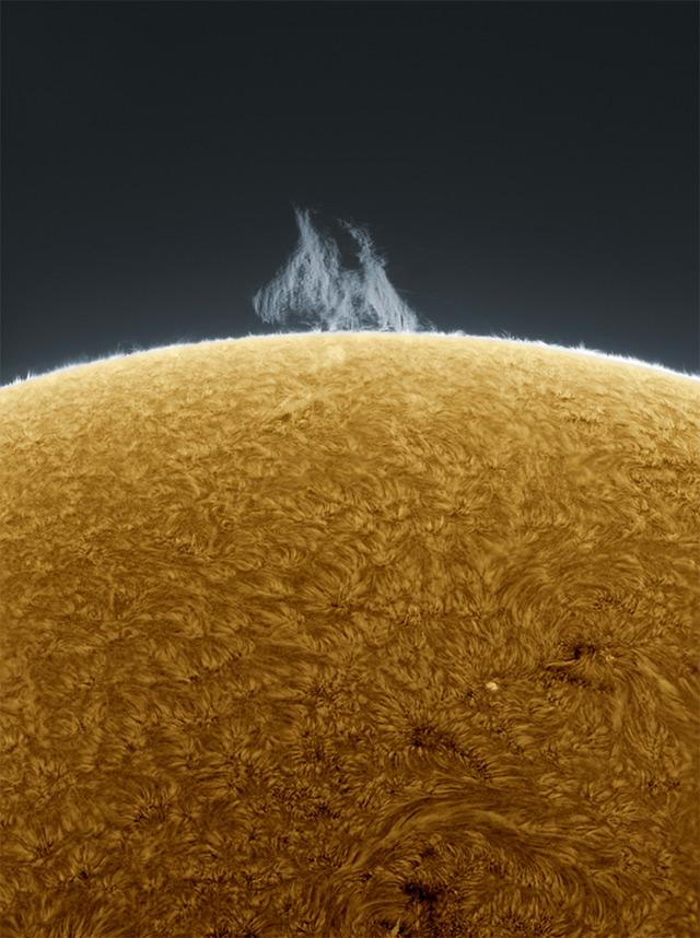 Удивительные фотографии Солнца от Алана Фридмана