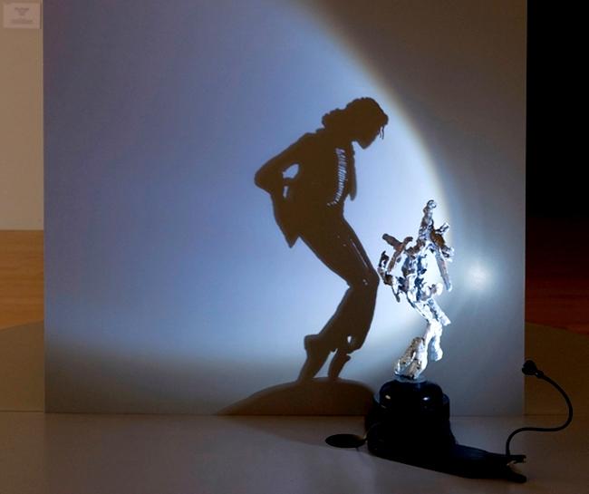 Скульптуры и портреты из света, тени и мусора от Диета Виегмана (Diet Wiegman)