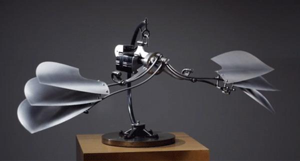 Удивительные кинетические скульптуры Боба Поттса