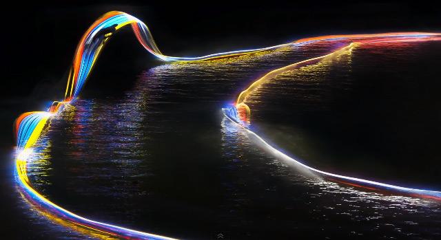 «Светлый путь» вейкбордистов от Patrick Rochon (видео)