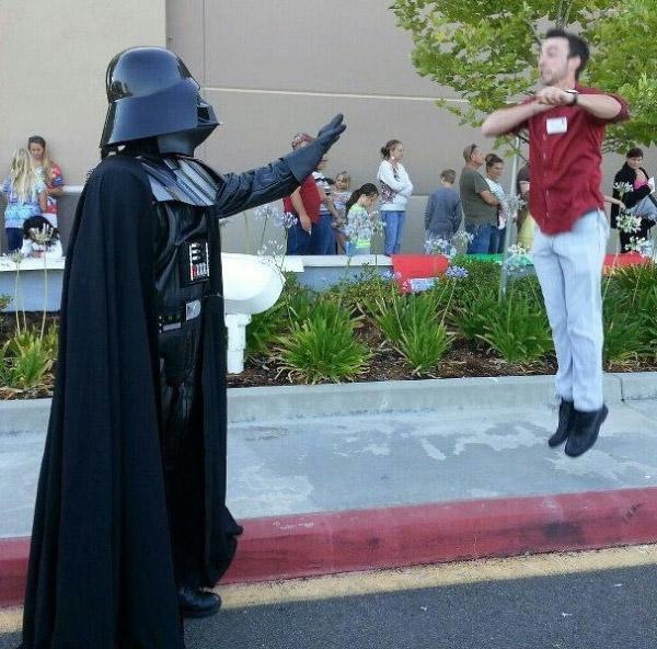 «Vadering»: Как открыть в себе Великие Силы Дарта Вейдера (Darth Vader)