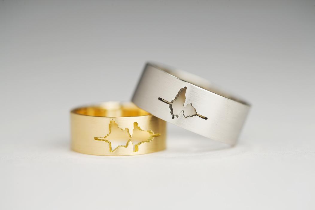 Обручальные кольца «I Do» от японского дизайнера Sakurako Shimizu