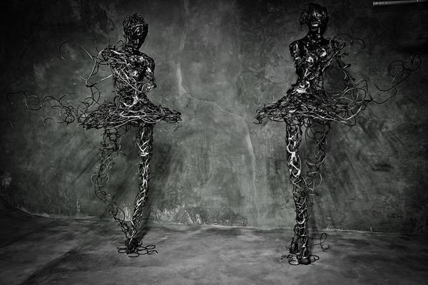 Потрясающие скульптуры от художника Regardt van der Meulen