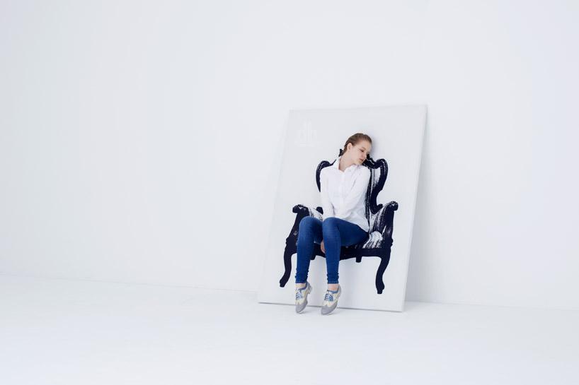 Картины от дизайн – студии «YOY», в которых можно сидеть!