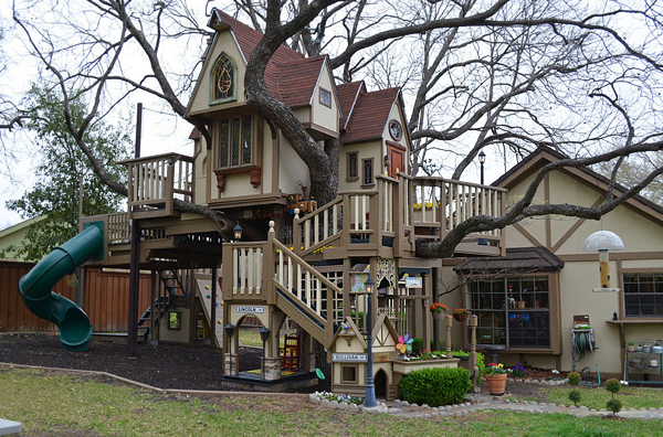 Сказочный Дом - Замок на дереве «TreeHouse»