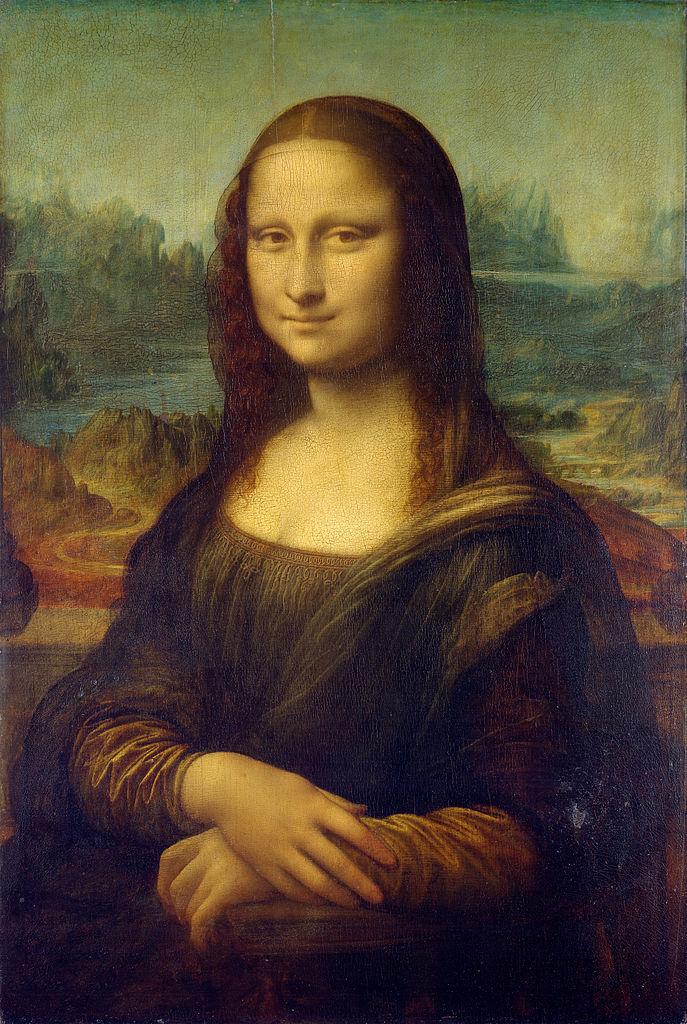 Портрет Моны Лизы, изготовленный из 1292 катушек ниток