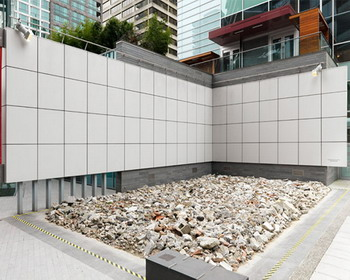 «Спокойствие» («Calm»): необычный строительный мусор на улицах Ванкувера от «MadeIn Company»