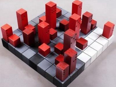 Шахматы в виде домино