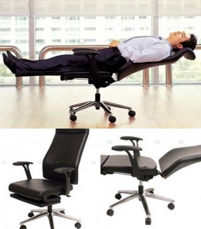 Офисное кресло – кровать «Lay Flat»