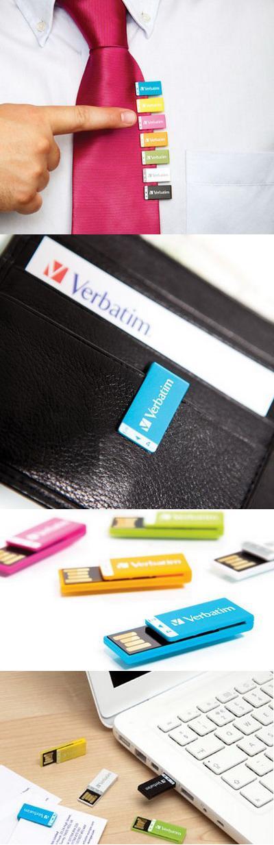 USB-накопители в виде «скрепок» («Clip-It»)