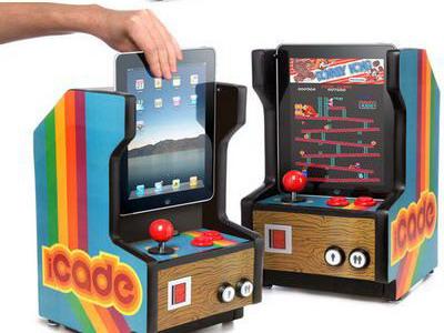«Старинный» игровой автомат «iCade»