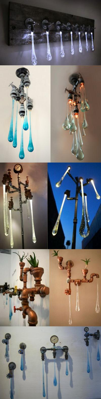 Светильники «Жидкий Свет» («Liquid Lights»)