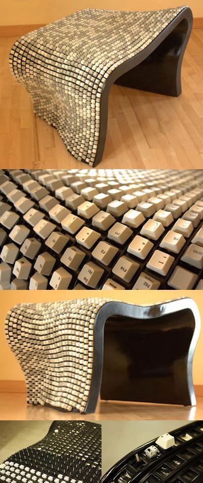 Стул из 2000 клавиш