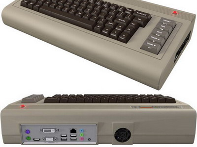 Компьютер в ретро корпусе «Commodore 64x»