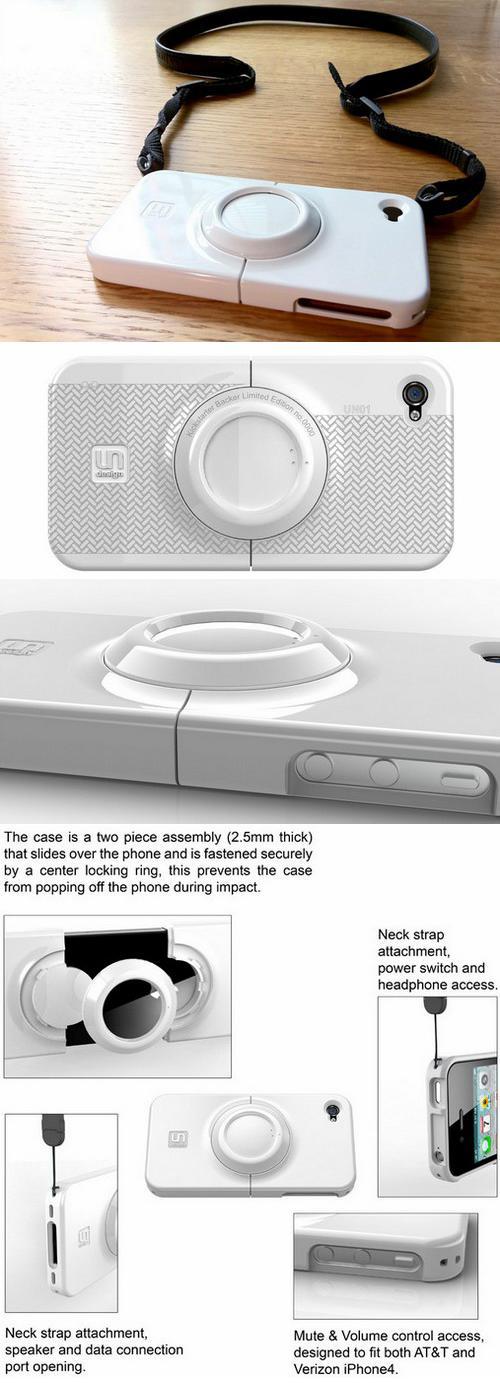 Защитный кожух «UN01» для iPhone