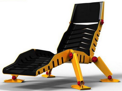 Концепт кресла «Bulldozer Lounge Chair»