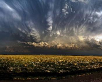 Приближение бури в Южной Дакоте