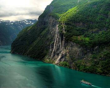 Водопад Семь сестёр, Гейрангер-фьорд, Норвегия