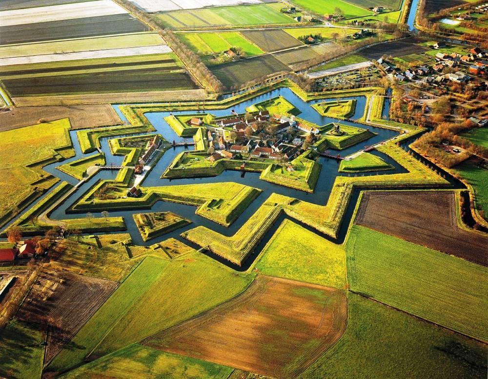 Форт Буртанье (Bourtange), Нидерланды