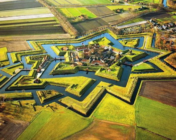 Форт Буртанье (Bourtange) в Нидерланды