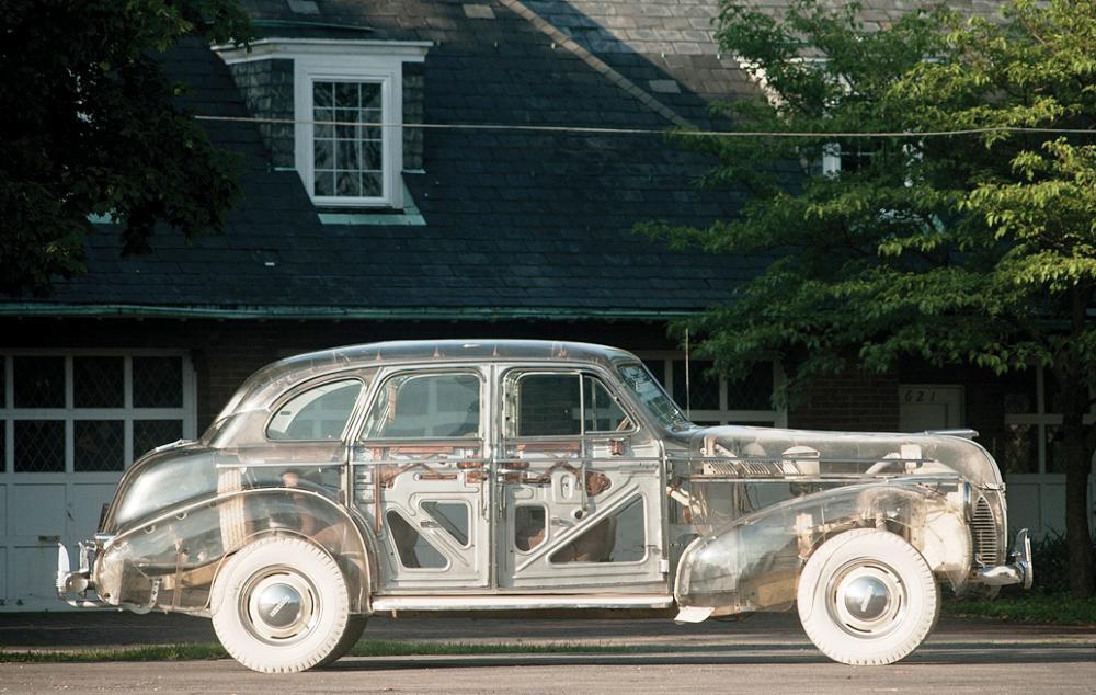 Автомобиль призрак «Pontiac Ghost»