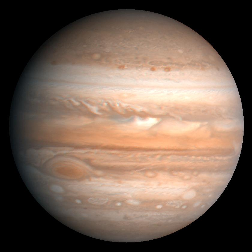 Большое Красное Пятно, Юпитер