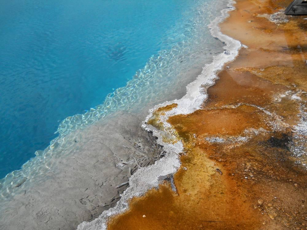 Соленое «искусство», Йеллоустонский национальный парк, США