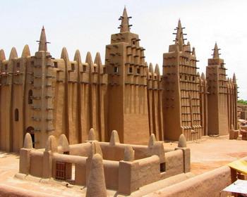 Великая мечеть Дженне, Мали