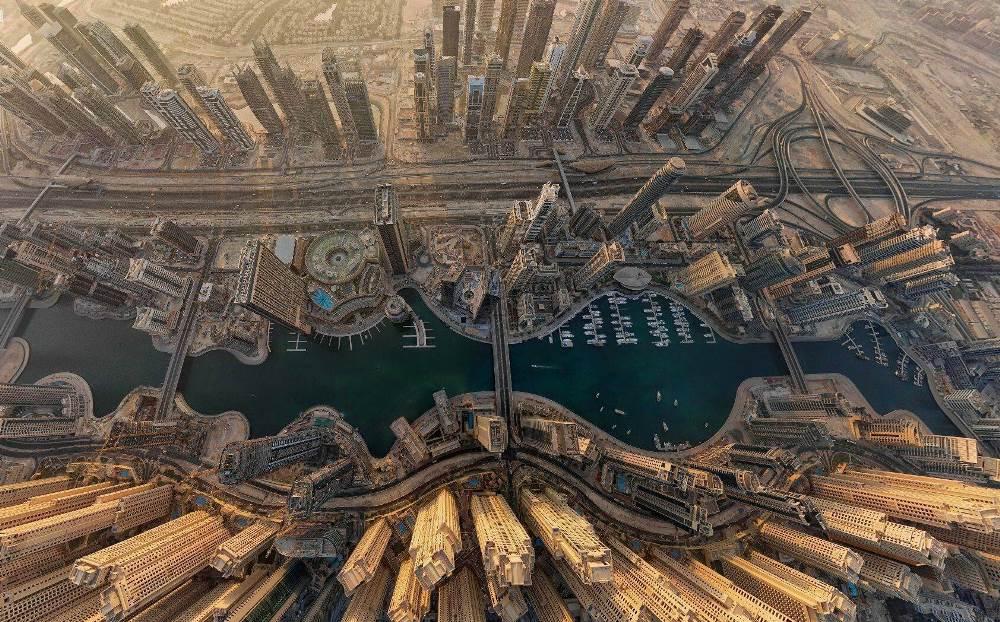 Вид на Дубаи, ОАЭ