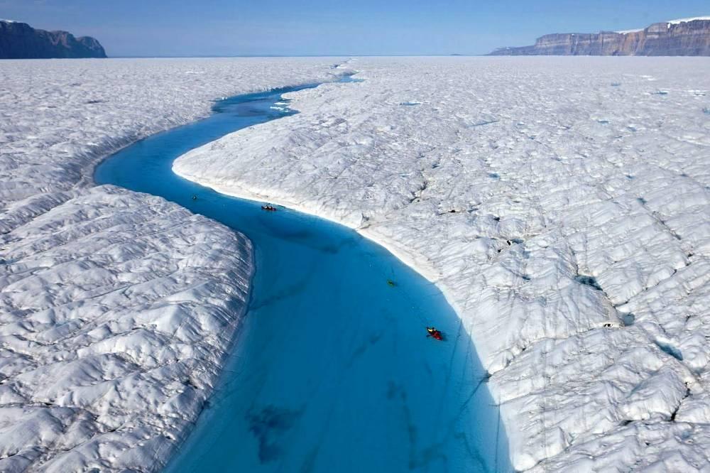 Экстремальные поездки на байдарках, Гренландия