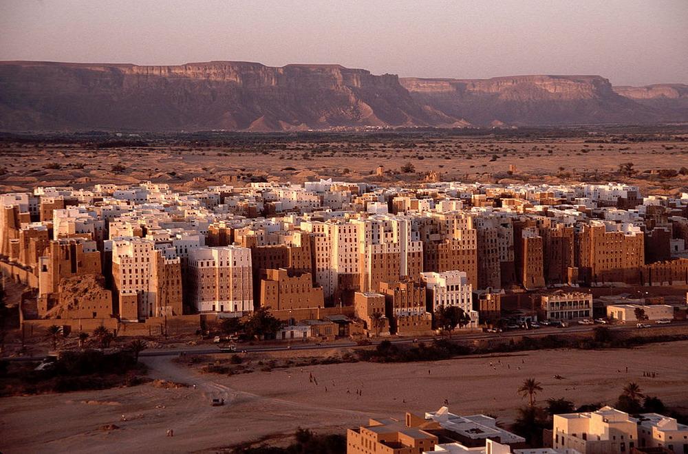 Древнейший вертикальный город, Шибам, Йемен