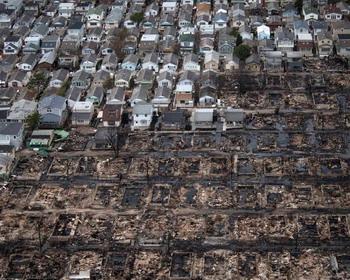 Последствия урагана «Сэнди», США (2012 год)