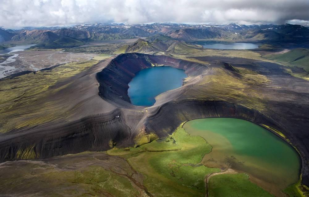 Огромные вулканы Исландии