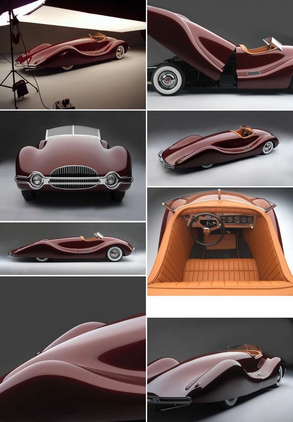 Плавные формы автомобиля «Buick Streamliner»