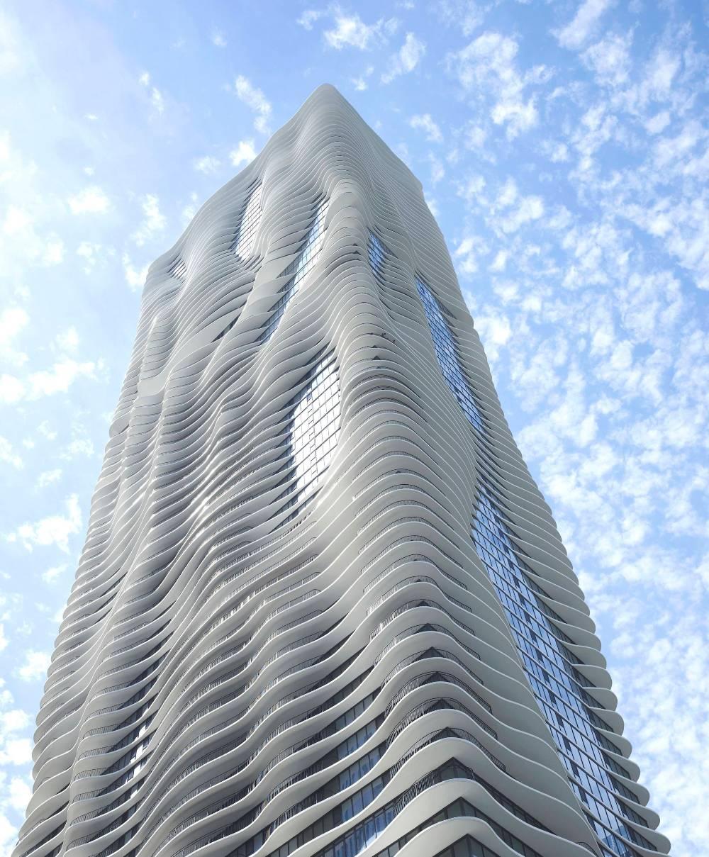 Небоскреб Аква, Чикаго, США