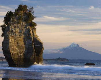 Вулкан Таранаки, Новая Зеландия