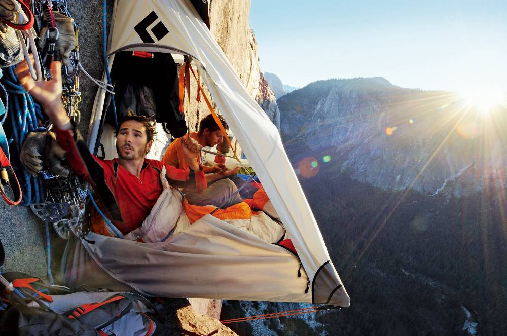 Привал на склоне горы, Долина Йосемити