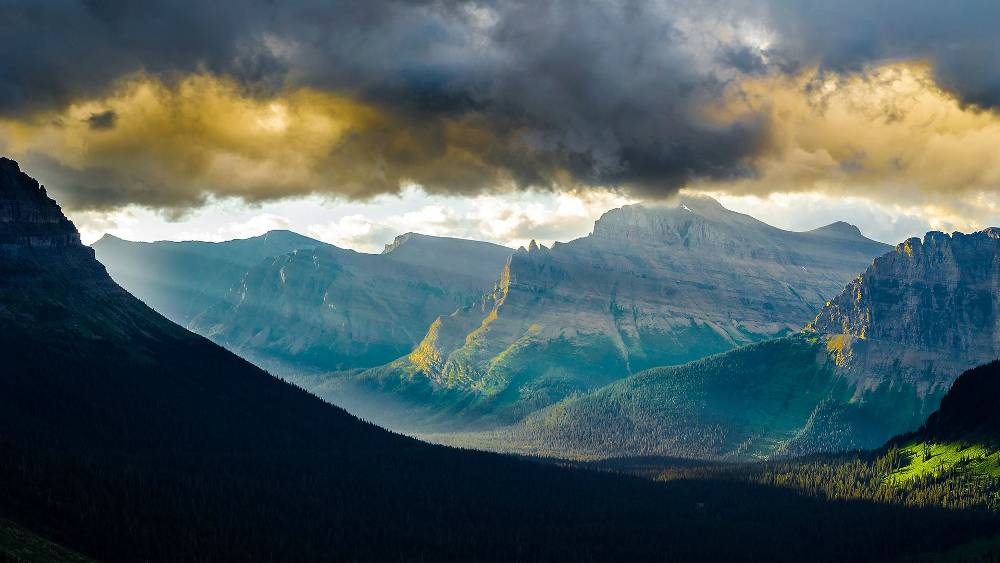 Перевал Логана, штат Монтана